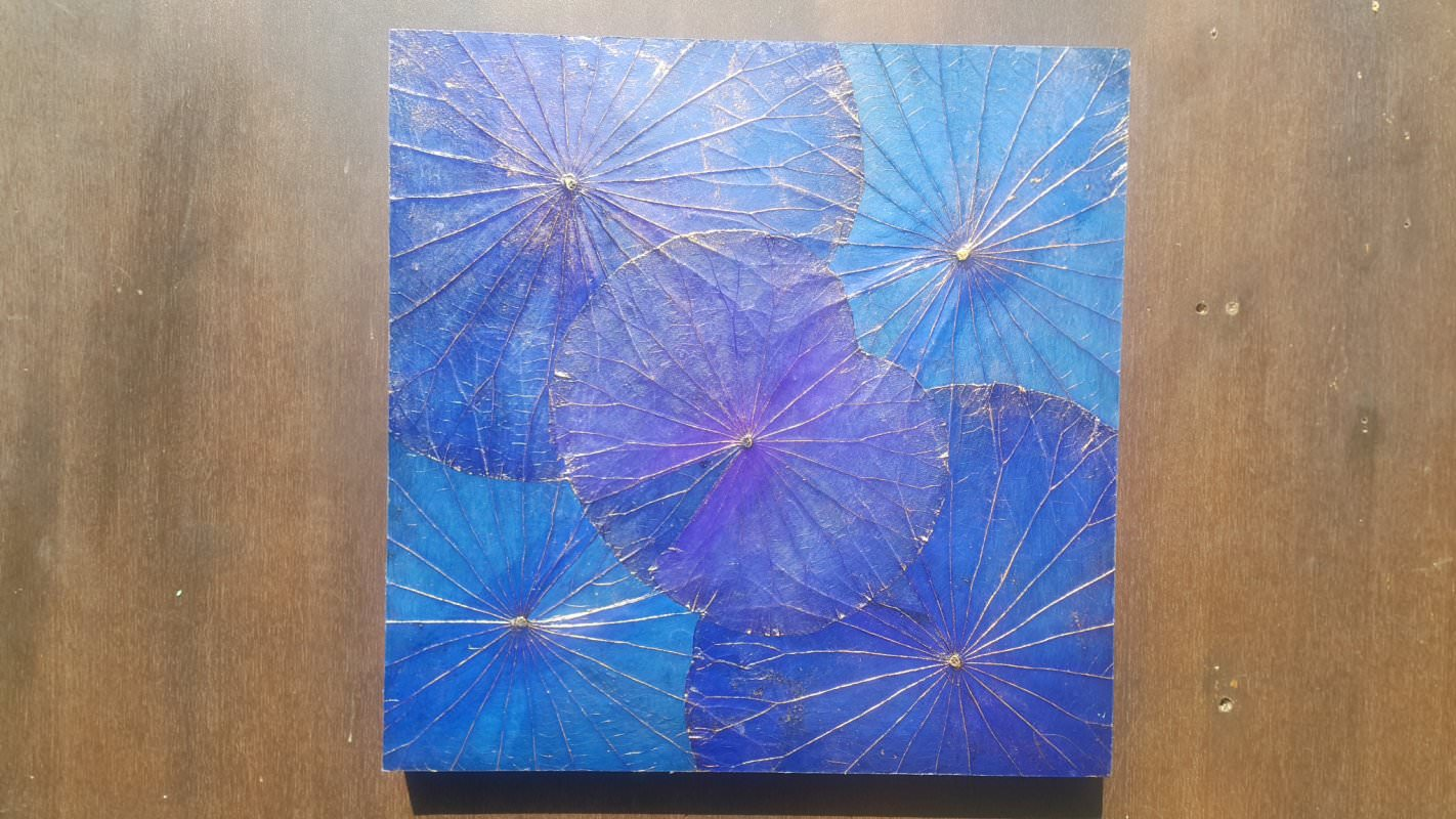 Lotus Leaf Wall Art (10)
