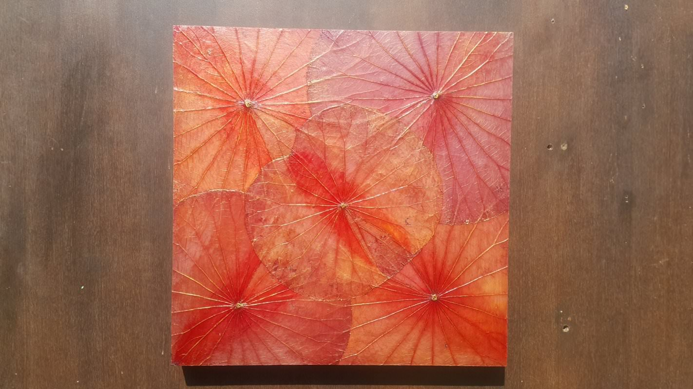Lotus Leaf Wall Art (11)