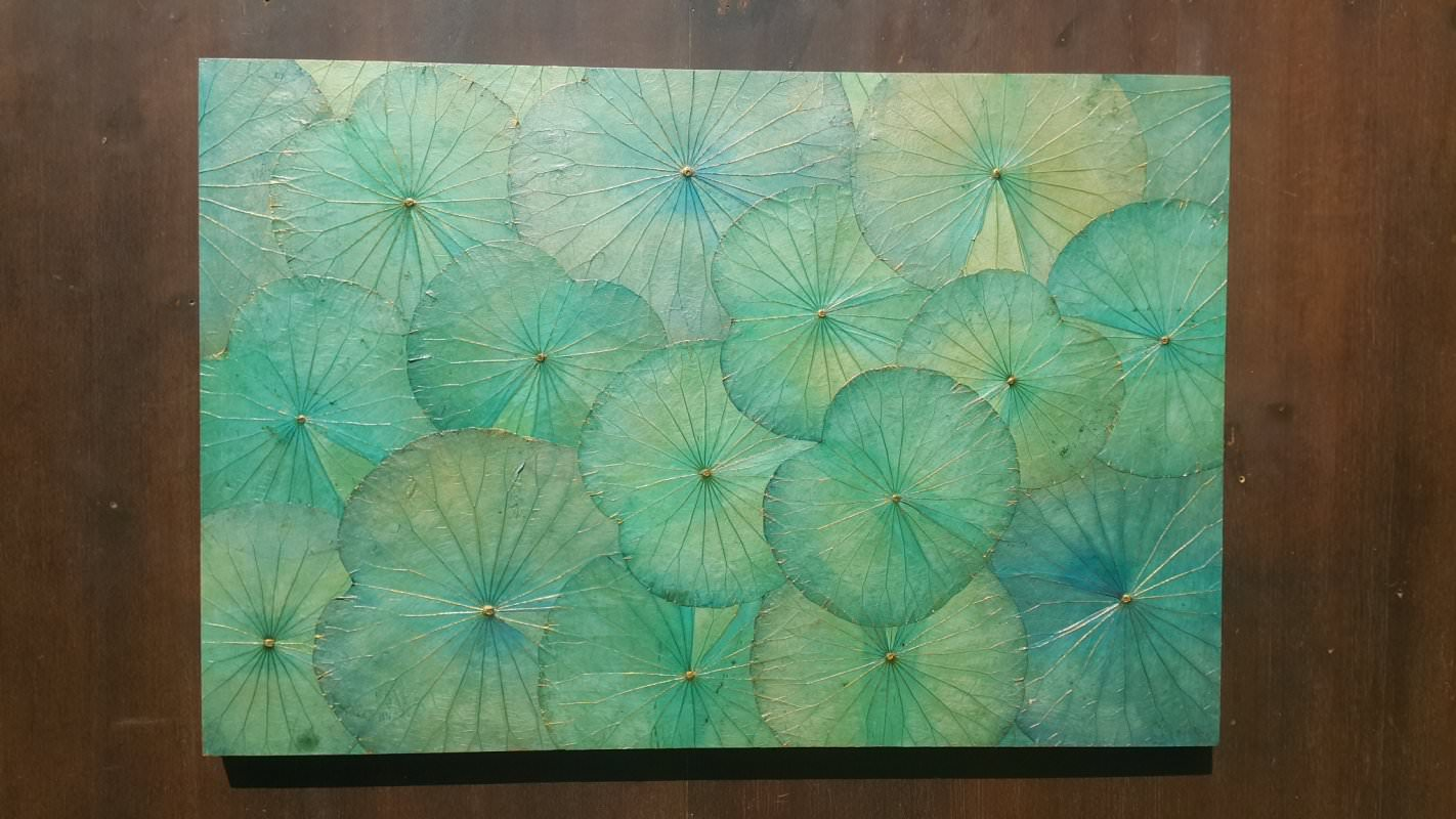 Lotus Leaf Wall Art (13)