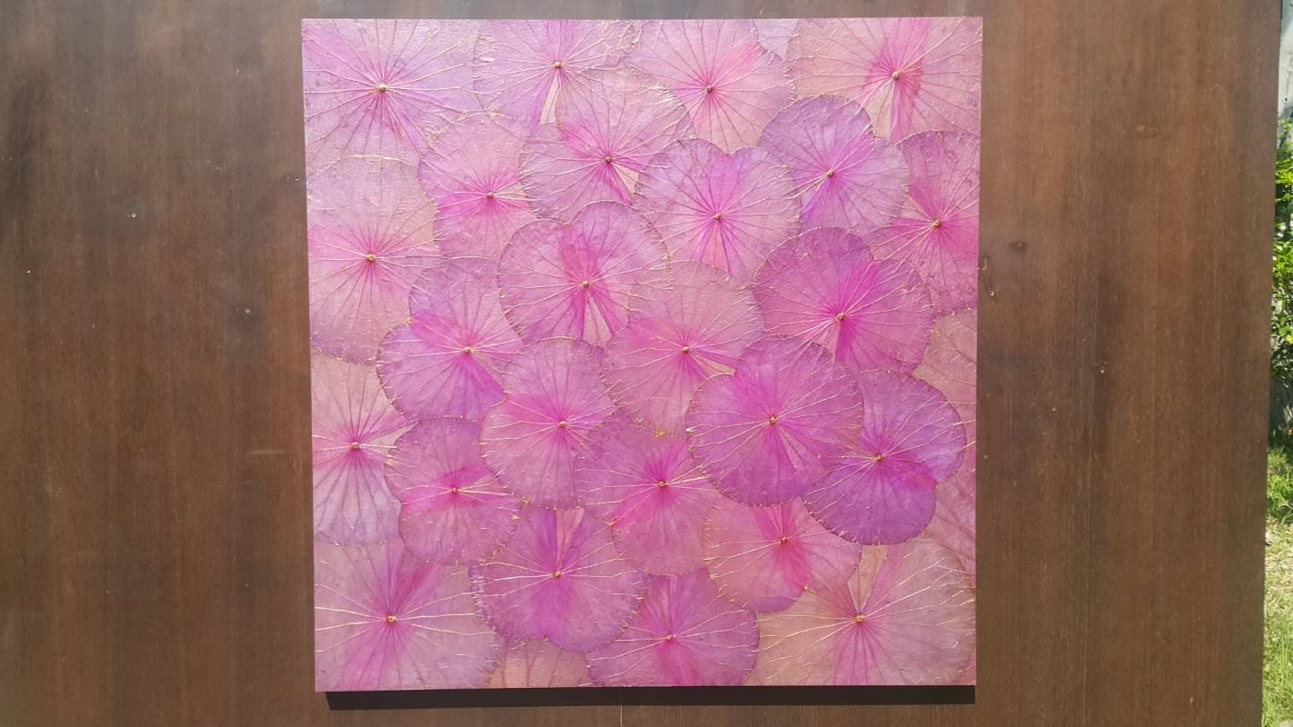 Lotus Leaf Wall Art (14)