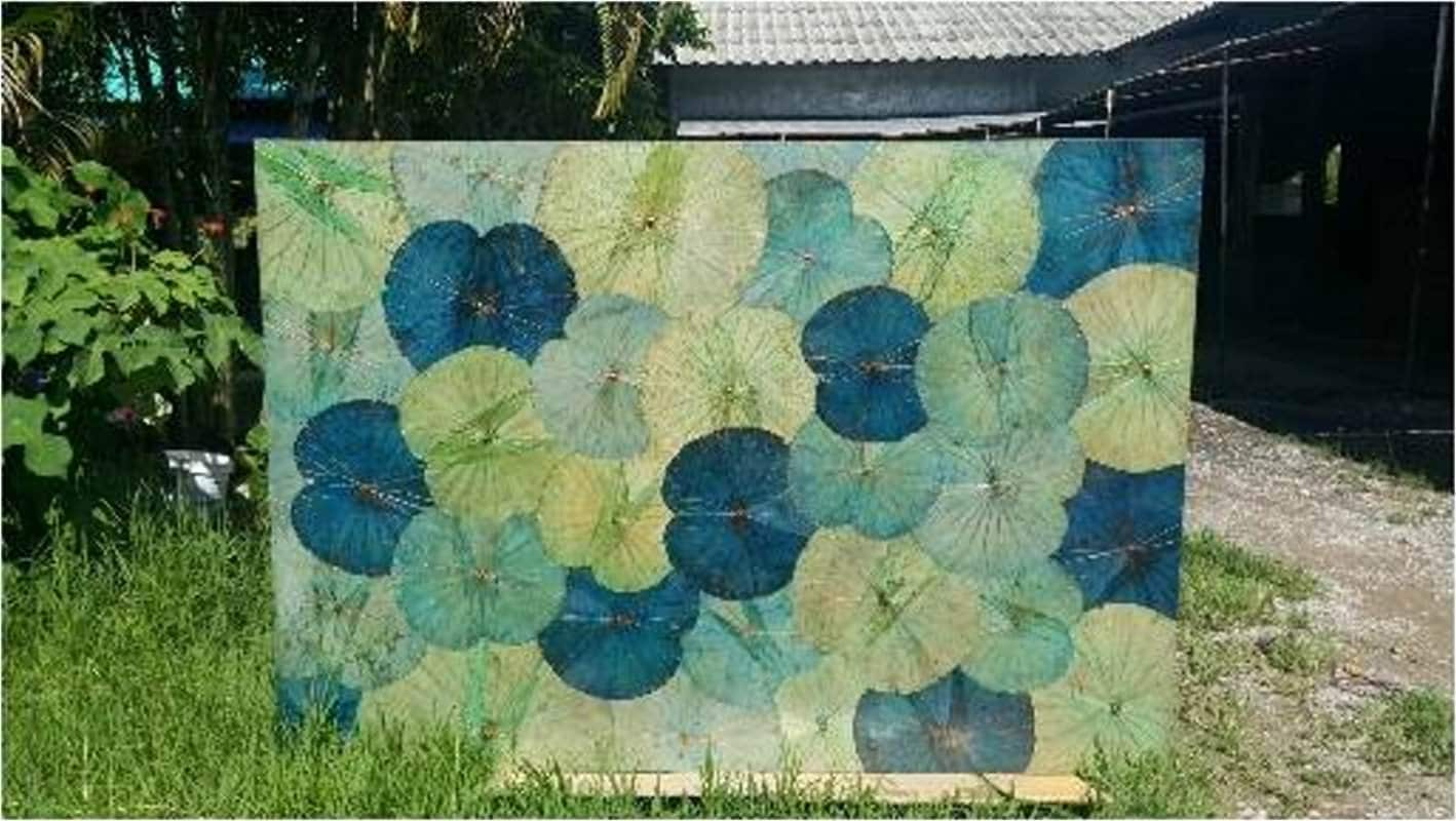 Lotus Leaf Wall Art (18)