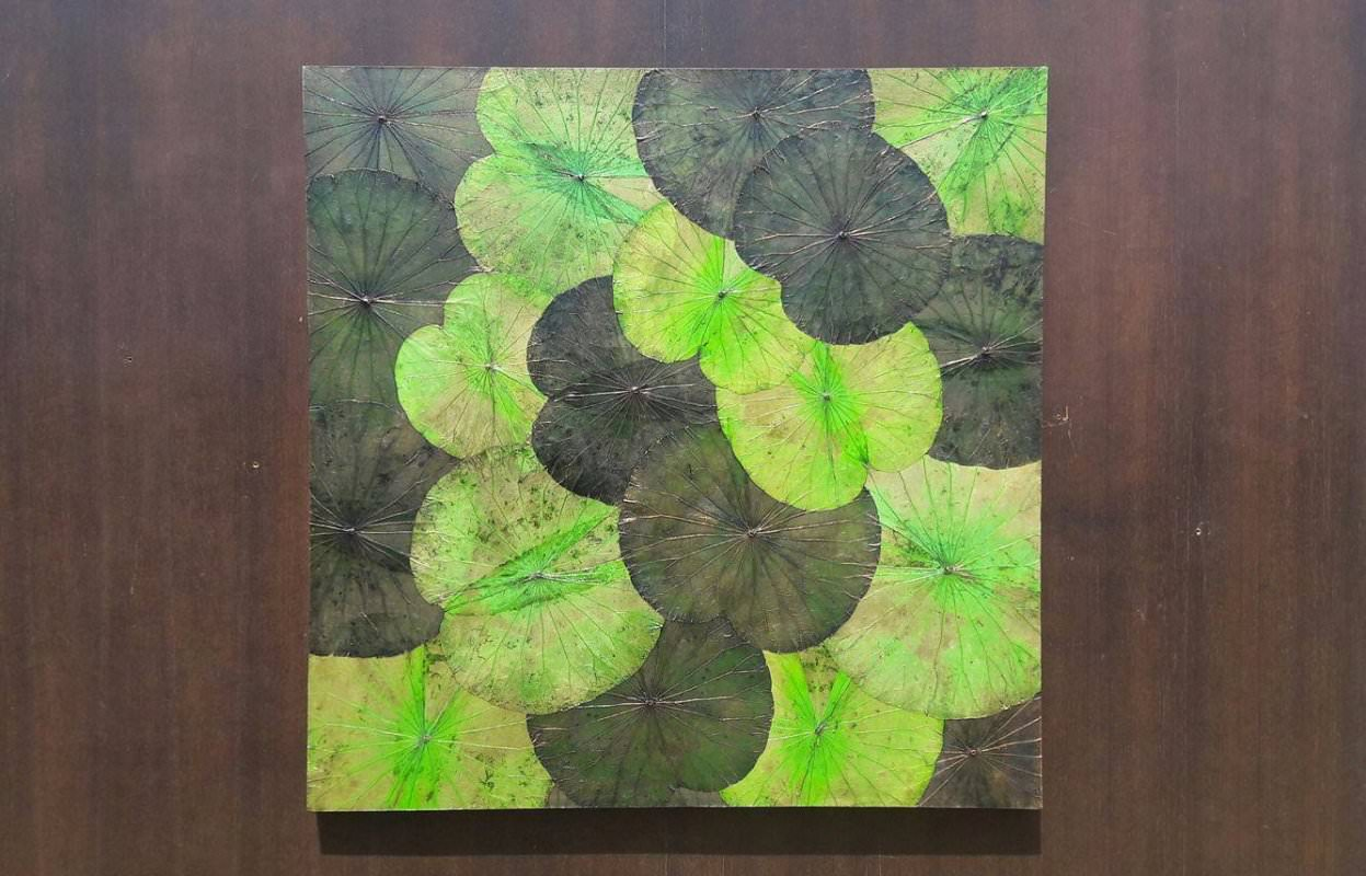 Lotus Leaf Wall Art (23)