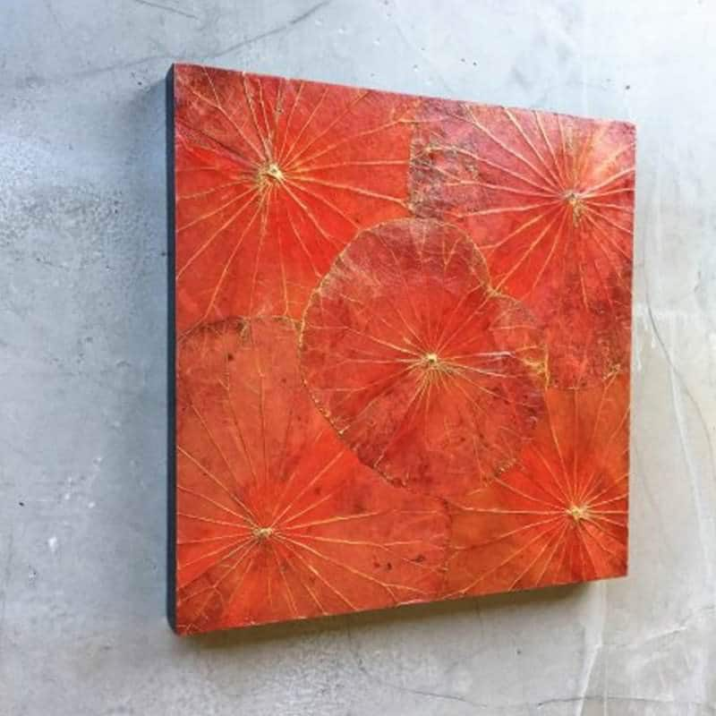 Lotus Leaf Wall Art (30)