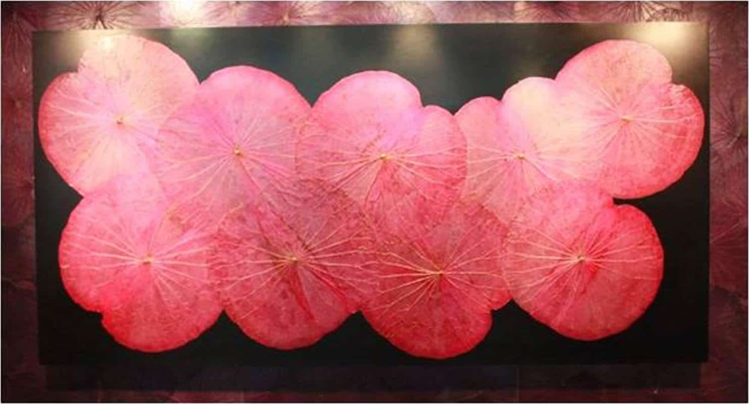 Lotus Leaf Wall Art (33)