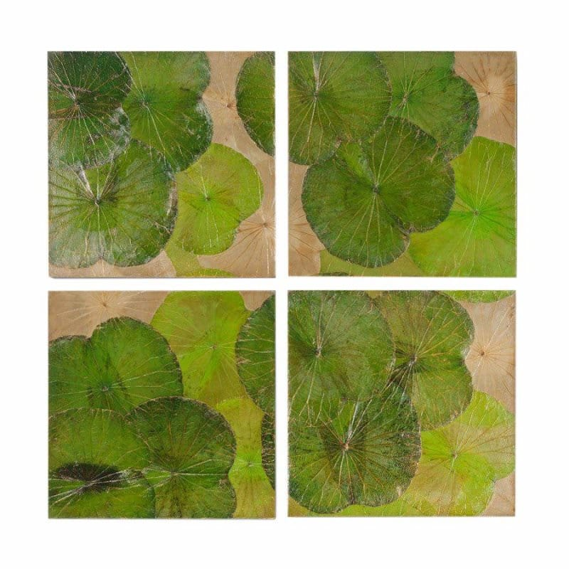 Lotus Leaf Wall Art (37)