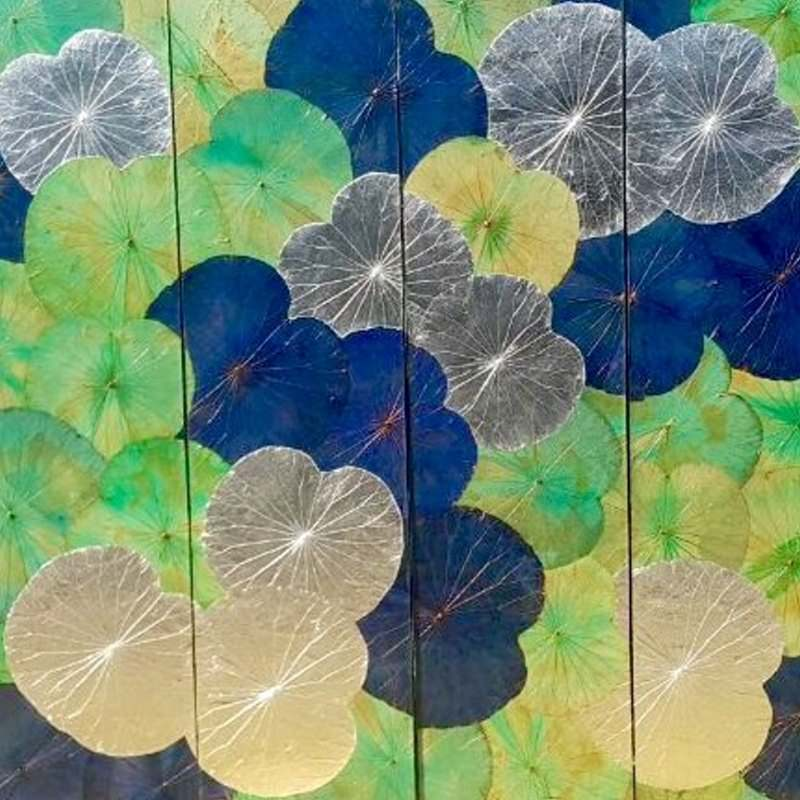 Lotus Leaf Wall Art (39)