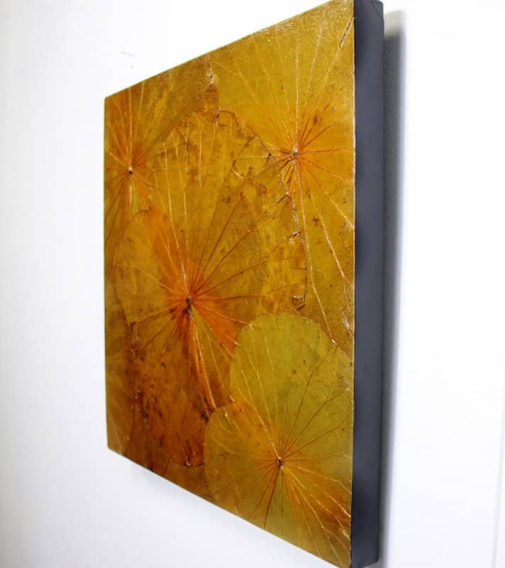 Lotus Leaf Wall Art (4)
