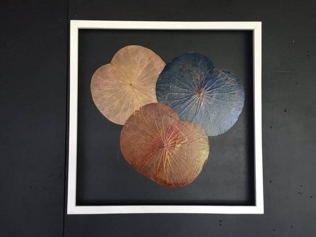 Lotus Leaf Wall Art (41)