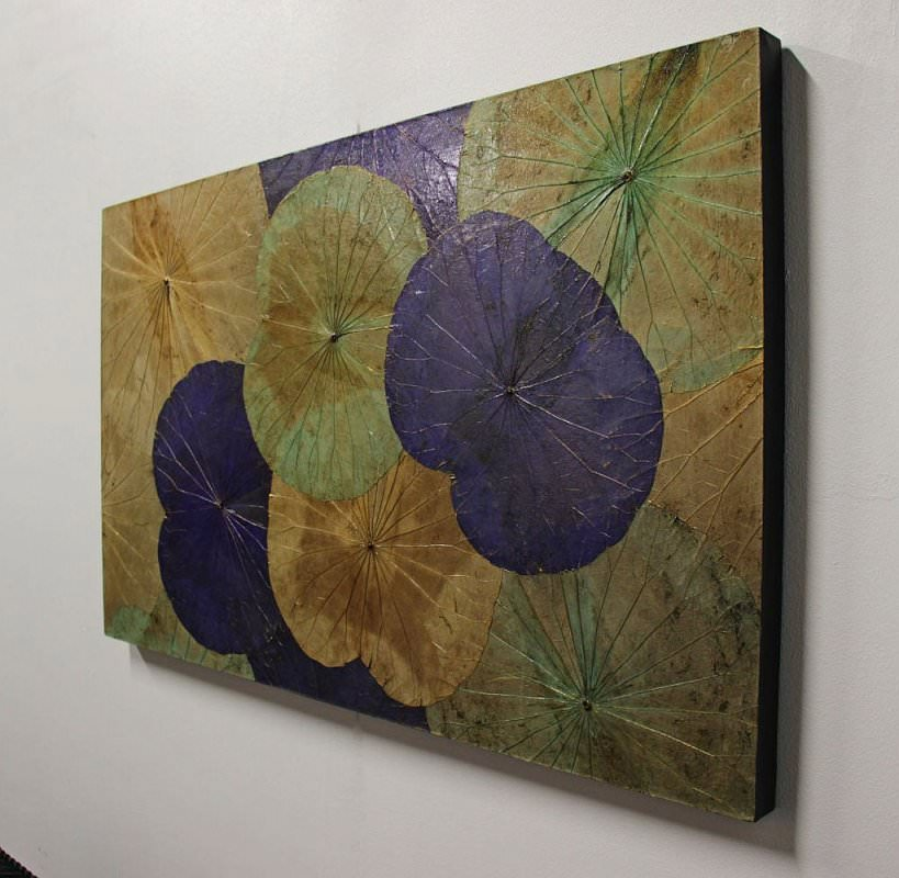 Lotus Leaf Wall Art (46)
