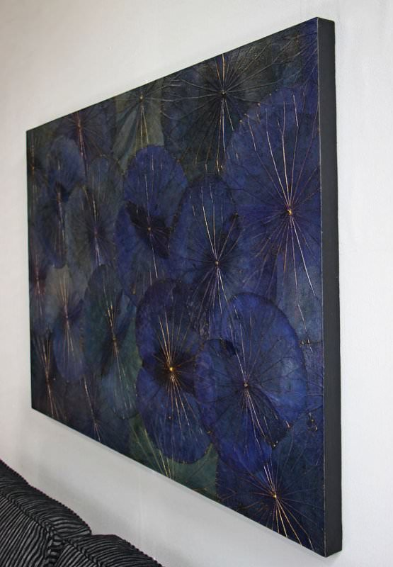 Lotus Leaf Wall Art (47)