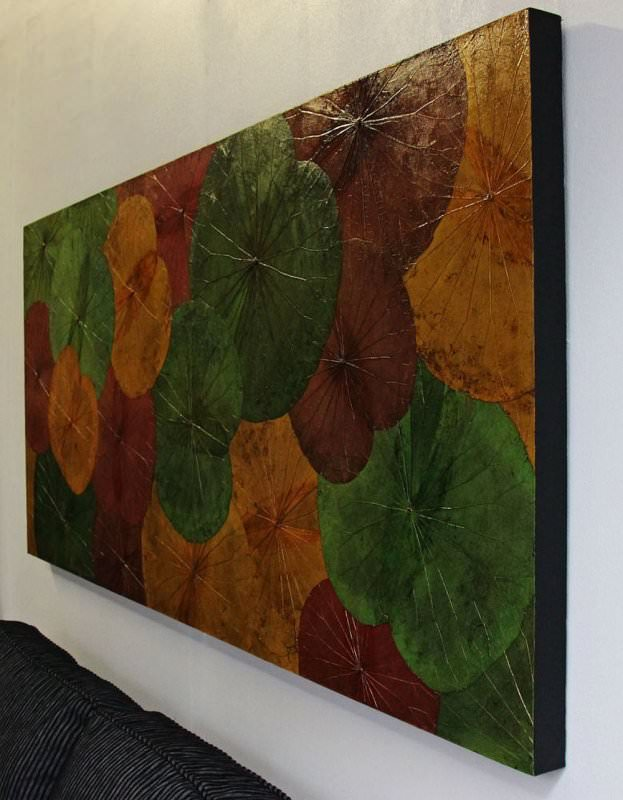 Lotus Leaf Wall Art (48)