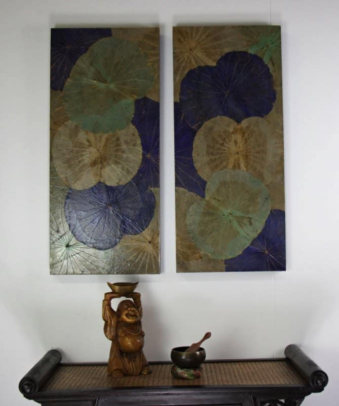 Lotus Leaf Wall Art (5)