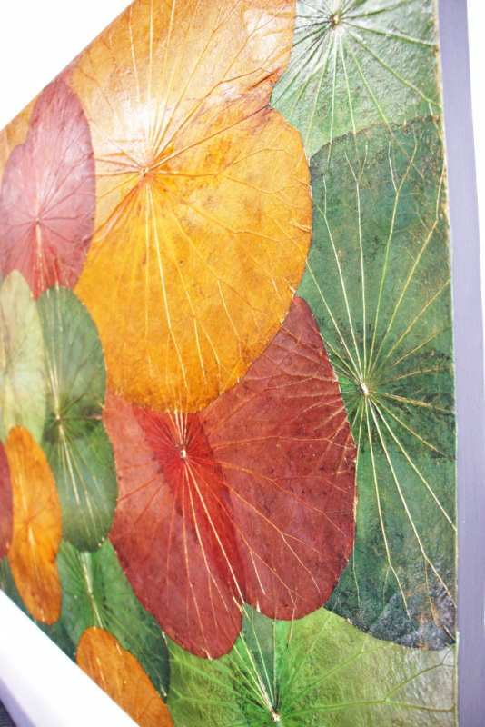 Lotus Leaf Wall Art (6)
