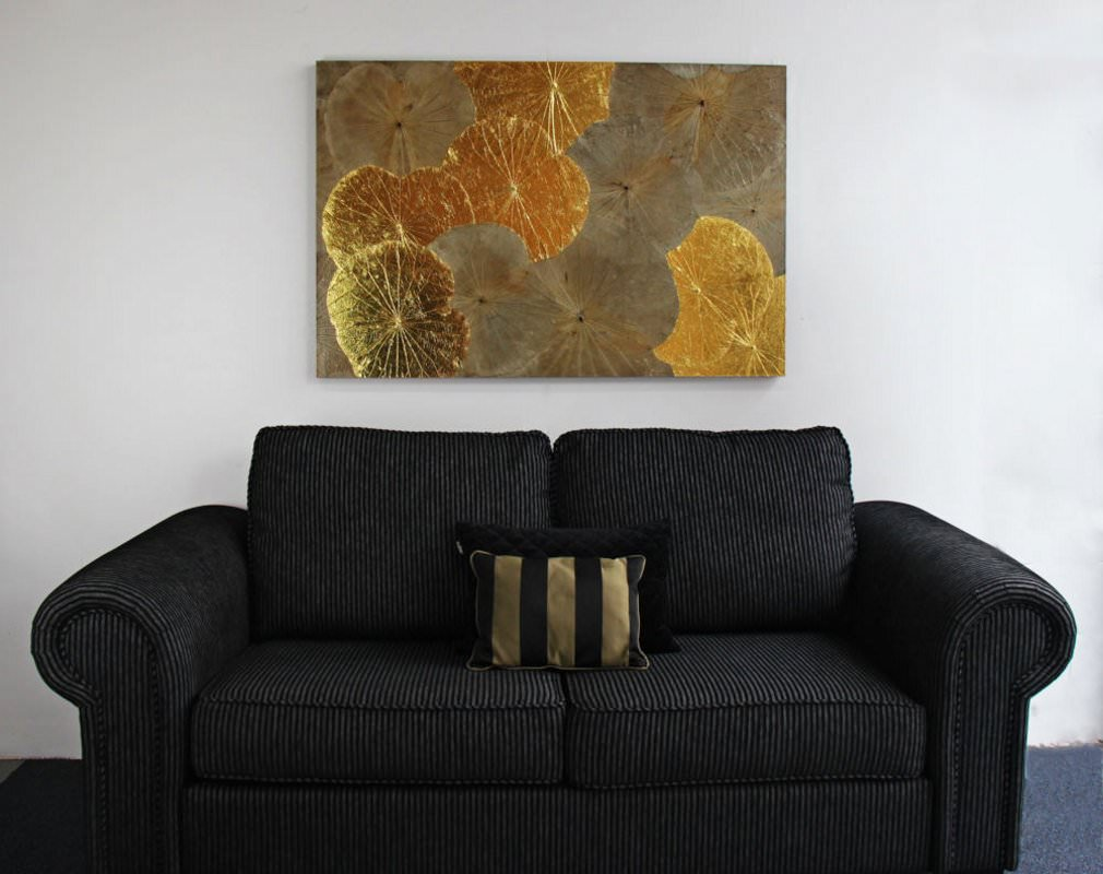 Lotus Leaf Wall Art (7)