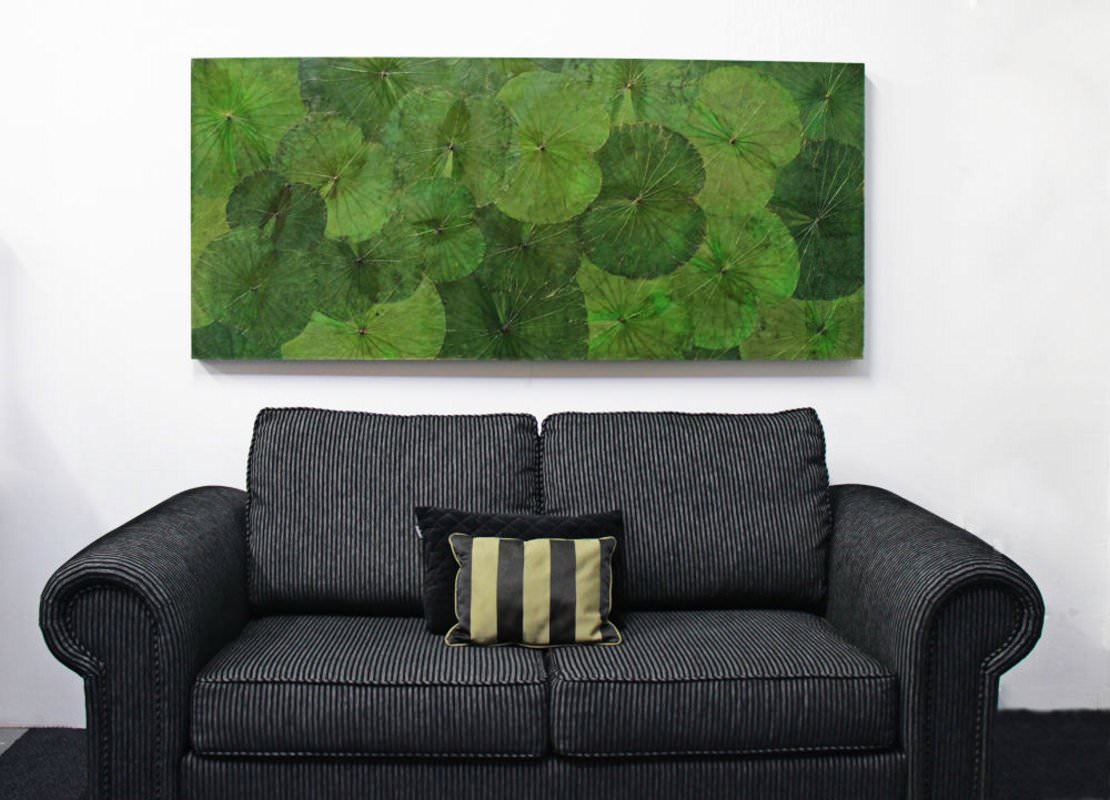 Lotus Leaf Wall Art (8)