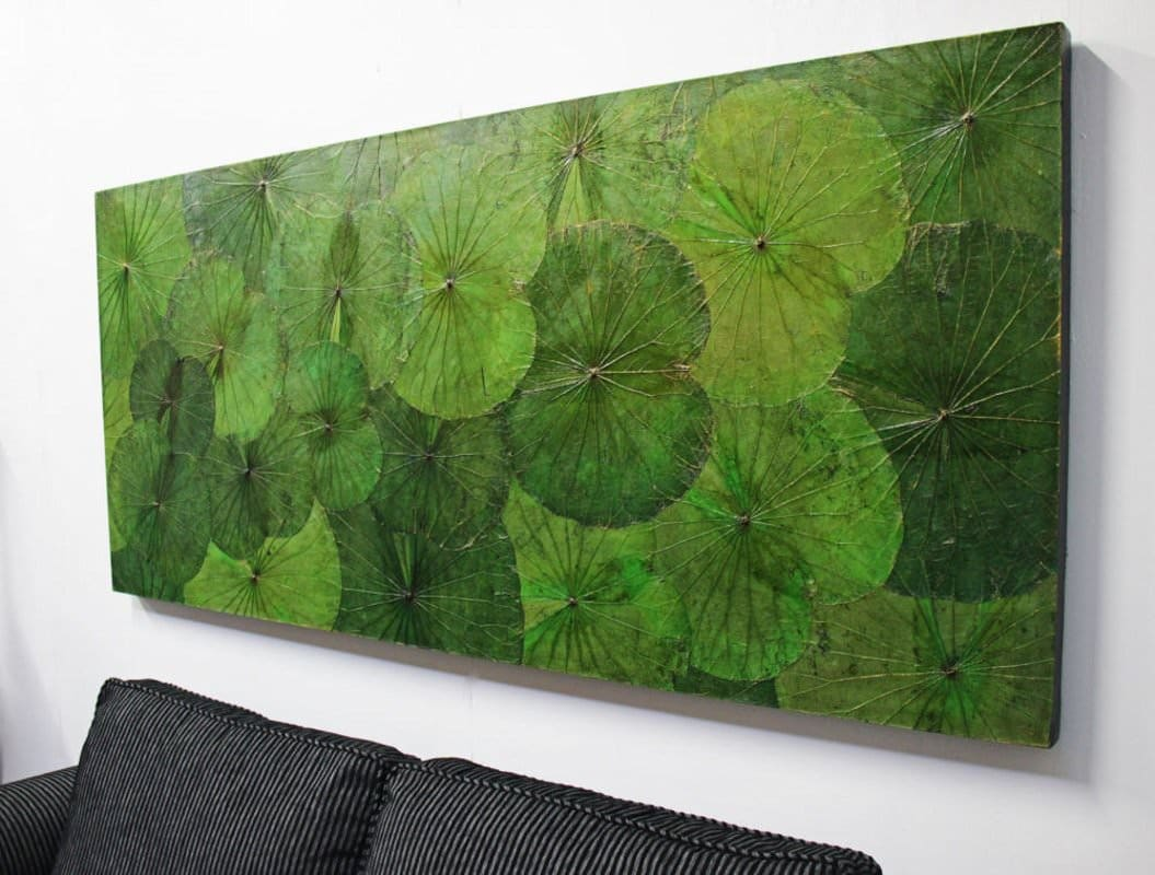 Lotus Leaf Wall Art (9)